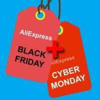 Black friday, Cyber monday Aliexpress 2017
