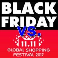 China's Singles Day 11.11 vs America's Black Friday