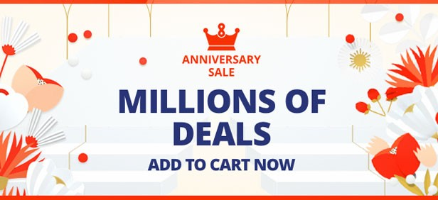 The Anniversary Sale Aliexpress 2018