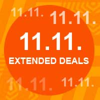 1111 extended deals Aliexpress