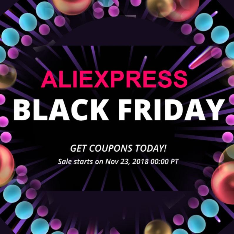 Black Friday Aliexpress 2018 Sale
