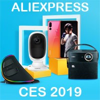 Participating brands at the Consumers Electronics Show 2019 – Aliexpress
