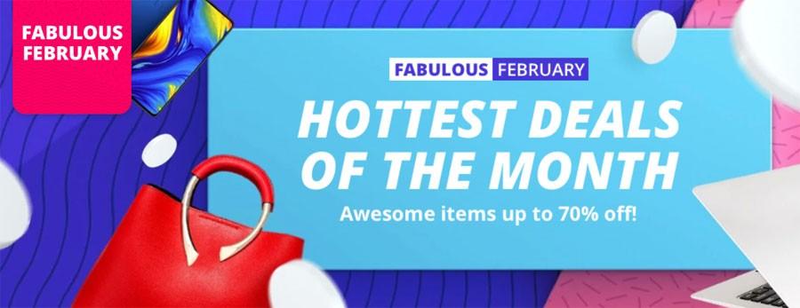 Fabulous February Aliexpress Sale 2019