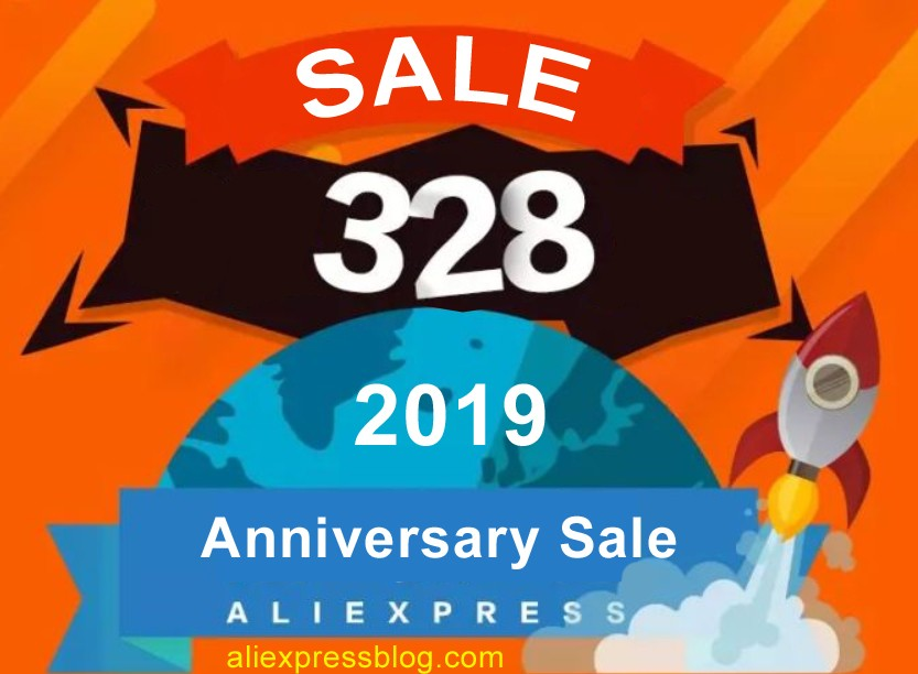 Aliexpress Anniversary Sale 2019 sale preparation.