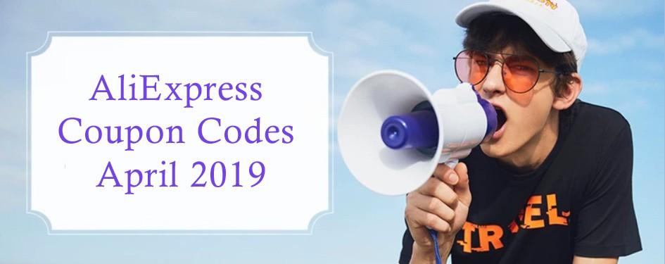 AliExpress Coupon Codes April 2019