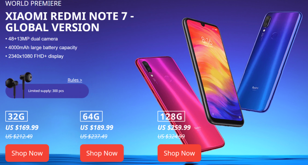 WORLD PREMIEREXIAOMI REDMI NOTE 7 - GLOBAL VERSION