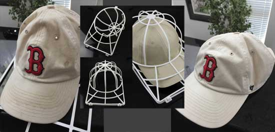Cap Washing Cage Baseball Hat Washer Frame Hat Shaper Drying Race