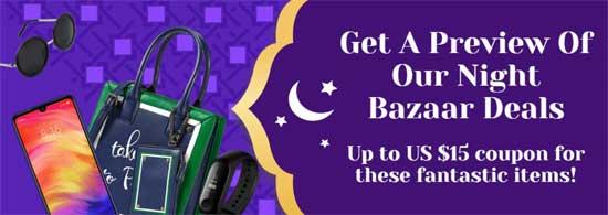 Night Sale AliExpress Ramadan