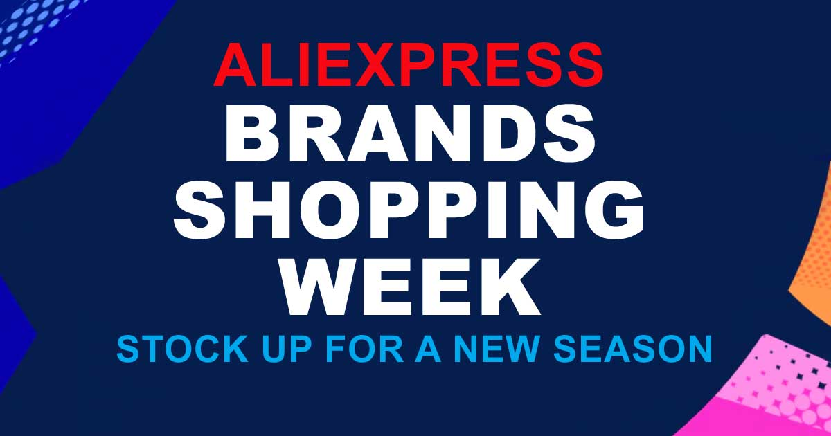 BRANDS SHOPPING WEEK 2019. Big summer sale on AliExpress,com