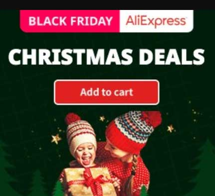 Aliexpress Black Friday Christmas Deals 2019