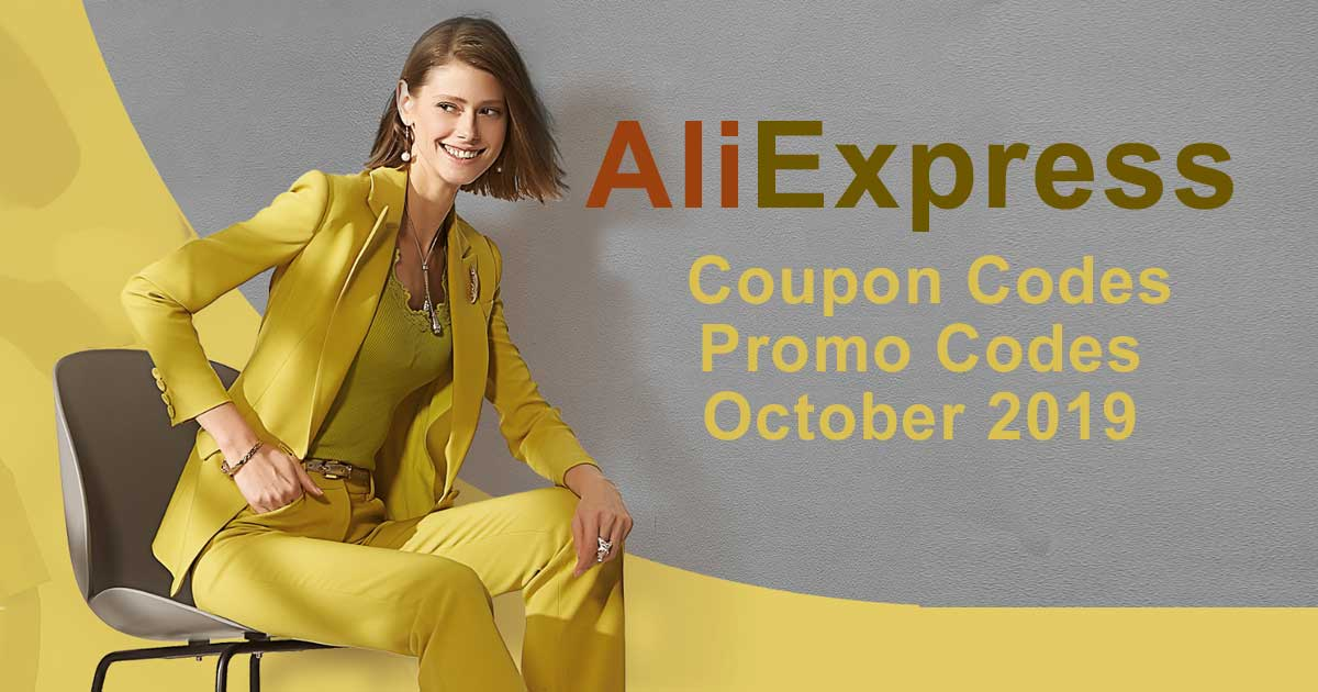 AliExpress Coupon Codes and Promo Codes October 2019