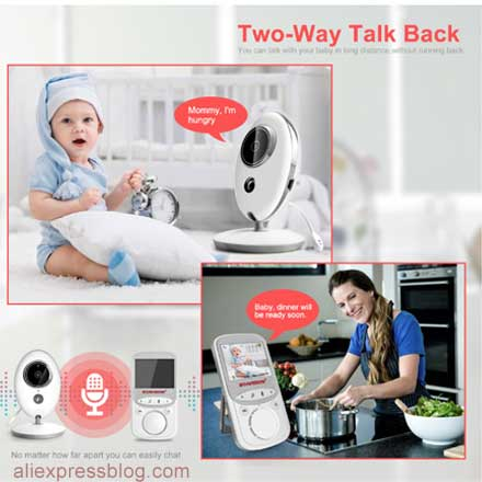 Wireless LCD Audio Video Baby Monitor 11.11 Sale on Aliexpress Best Deals