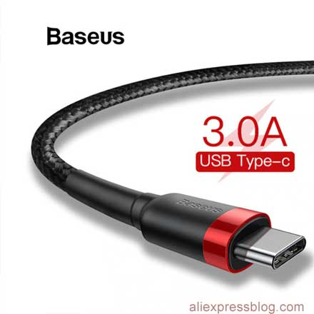 Baseus USB Type C Cable AliExpress Sale 1111 best deals