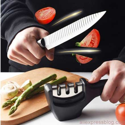 Knife-Sharpener-3-Stages 11.11. Sale Aliexpress Best Deals