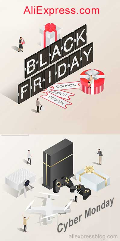 AliExpress Black Friday and Cyber Monday 2019