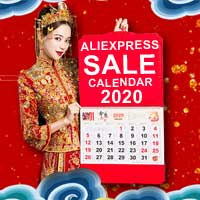 Aliexpress Sale calendar 2020 Sale Dates