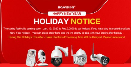 HOLIDAY NOTICE Chinese New Year 2020 AliExpress