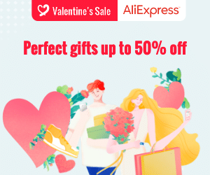 VALENTINE'S SALE – Perfect gifts up to 50% off – Promotion Period: 11-02-2020 – 15-02-2020