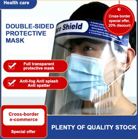 Protection Face Hat Helmet Virus Prevention Respirator Shield Spittle Safety Masks work with Face Mouth Mask