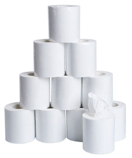 10pcs Three Layer Toilet Tissue Home Bath Toilet Roll toilet paper Soft Toilet Paper Skin-friendly Paper Towels New k1