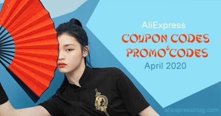 AliExpress Coupon Codes and Promo Codes April 2020