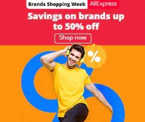 Brands Shopping Week 2020 AliExpress Big Sale
