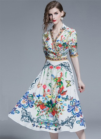 Fall Floral Dresses 2020
