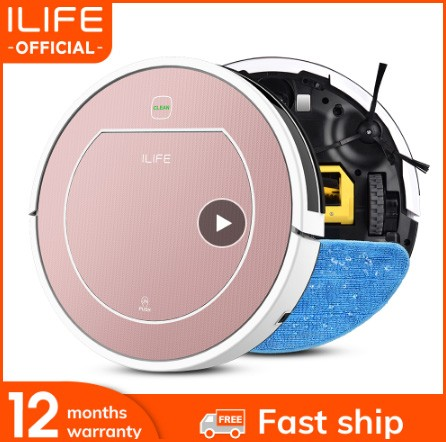 ILIFE V7s Plus Robot Vacuum Cleaner Sweep Fast Shipping From Europe