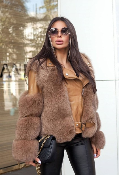 Real Fox Fur Coats on aliexpress