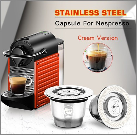 Refillable For Coffee Filter Fast Shipping From Europe AliExpress