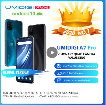 UMIDIGI A7 Pro Fast Shipping From Europe United States GERMANY Spain Australia France Buy on Aliexpress