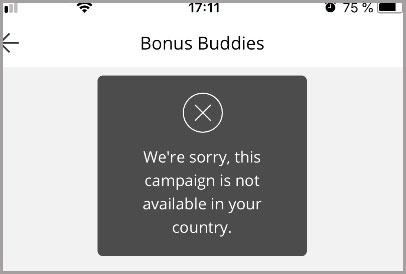 Why is the AliExpress Bonus Buddies not working error