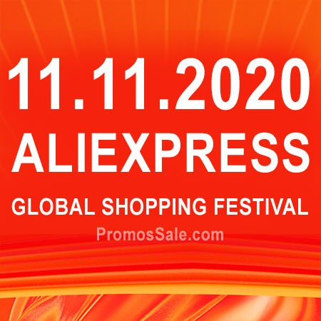 AliExpress 11.11 sale Global Shopping Festival 2020