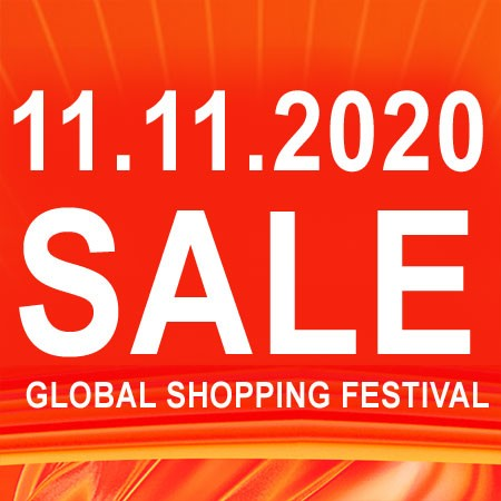 Global Shopping Festival 2020, double 11, big sale 2020, online shopping, 11.11 sale, singles day sale AliExpress 11.11