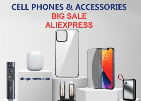 Cell Phones and Accessories AliExpress Sale 2020