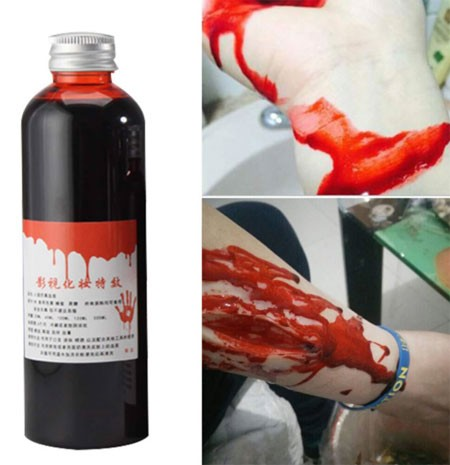 Fake blood for Halloween
