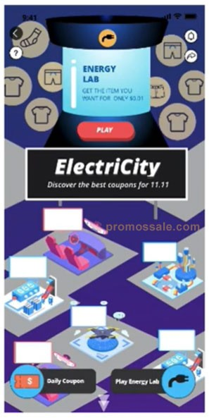 Game ElectriCity AliExpress sale best coupons for 11.11