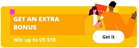 Get an extra bonus – Win up to US $10 AliExpress