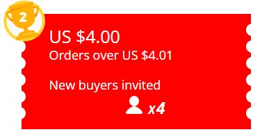 Refer a new user and get $ 4 free coupons