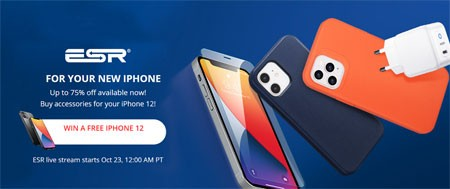 Buy accessories for your iPhone 12 WIN A FREE IPHONE 12