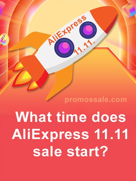 When does 11.11 2020 start AliExpress?