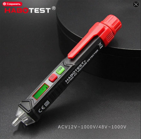 HT100E Intelligent Non-contact Pen Alarm AC voltage detector meter Tester Pen Sensor Tester Best Aliexpress 11.11 deals fast delivery