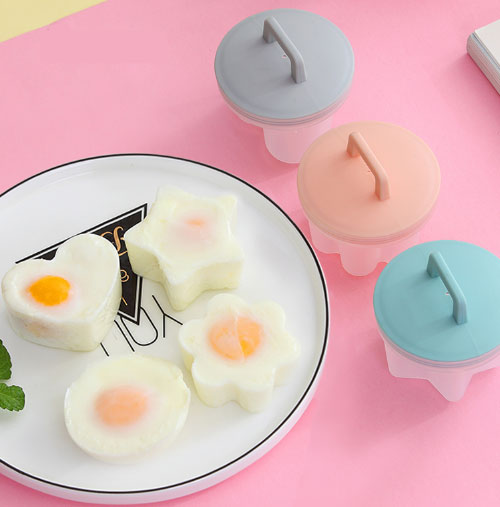Cute egg boiling tool Genius Kitchen Products