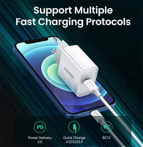 29% off a Ugreen Quick Charge PD 18W Fast Charger Ali Sale 2021