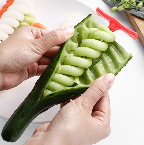 Vegetable spiral knife amazing cooking gadgets