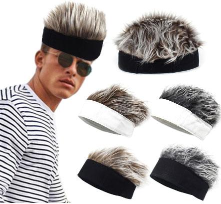 Wig Hat Fun Short Hair
