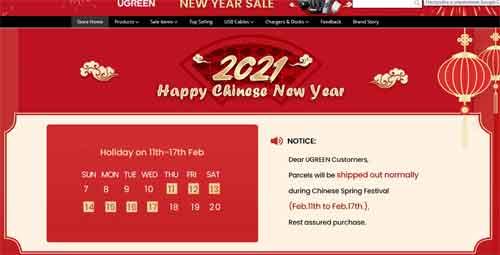 Seller Notice AliExpress New Year 2021